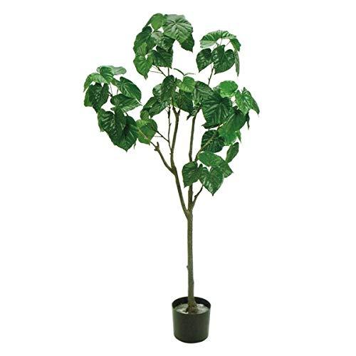 人工観葉植物 フィドルツリーポットM 高さ140cm fg1268 (代引き不可) インテリアグリーン 造花 B07T22NXKF