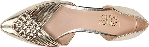 Franco Sarto Women's Sariah Ballet Flat Soft Metal Gold Pu outlet order free shipping perfect online sale 7JFN6xhx