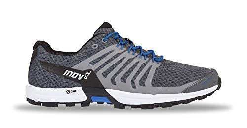 Inov8 Men's Roclite 290 Graphene Trail Running Shoes Grey/Blue M13 & Headband