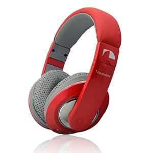 NakamichiHeadphonesNK780M Red Metallic