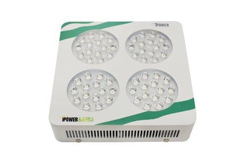 iPower GLLEDXC180C Multi-Spectrum LED Grow Light for Plant Growth and Flowering, 180-watt