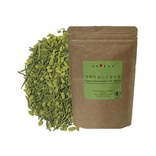Organic Genmaicha Green Tea with Matcha Loose Leaf from Japan - ShiZen Tea