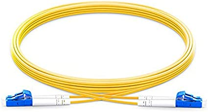 30 Meter LC//LC Duplex 9//125 Single Mode Fiber Patch Cable by CableRack