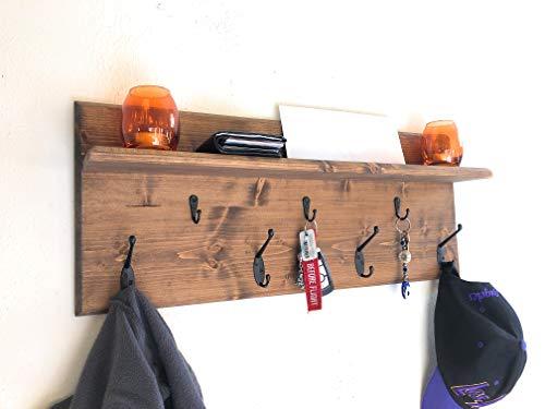 Wall Organizer Shelf, Coat Holder, Key Holder, Racks ()