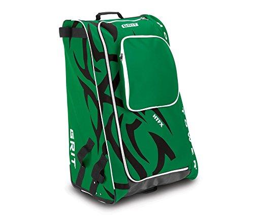 Grit Inc HTFX Hockey Tower 33 Wheeled Equipment Bag Green HTFX033-DA (Dallas)