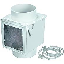 "Deflecto Extra Heat Dryer Saver, 4"", White (EX12)"
