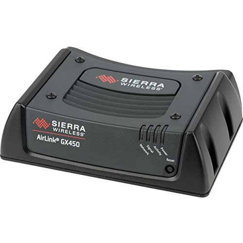 Sierra Wireless AirLink GX450 1102326 Rugged, Secure Mobile 4G LTE Gateway Modem - Verizon - DC Cable (No Antenna Included) from AirLink