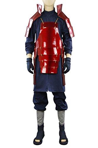 Costume Halloween Uchiha Madara (Mtxc Men's Naruto Cosplay Costume Madara Uchiha Outfit 1st Size XX-Large)