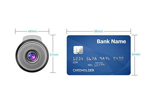 16GB SD Card Included Nano Dash Cam Car Camera Recorder Kit Pocket-Sized Wi-Fi connectivity #RSC-Nano-B Full HD 1080p Resolution with Sony Exmor Image Sensor