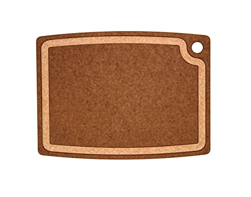 Epicurean Gourmet Series Cutting Board, 17.5-Inch by 13-Inch, Nutmeg/Natural
