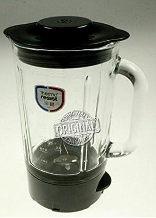 Licuadora de vidrio resistente al calor Original para robot de cocina Kenwood FPM910: Amazon.es: Hogar