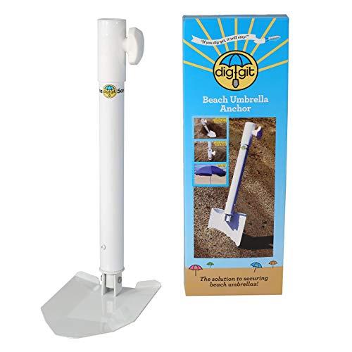 - dig-git Best Beach Umbrella Anchor