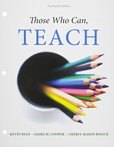 Those Who Can,Teach (Loose) W/Mindtap