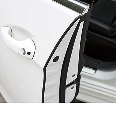 Besteek Car Door Edge Guards 32Ft(10M) U Shape Car Door Protector Rubber Seal Door Guard Internal Double Sided Tape (No Glue Required): Automotive