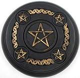 Altar Tile: 5 Pentagram Wood