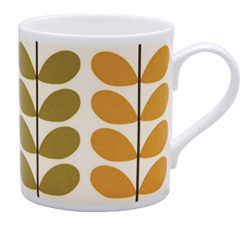 Orla Kiely Bone China Mug - Stripe Multi Stem Orla Kiely Design