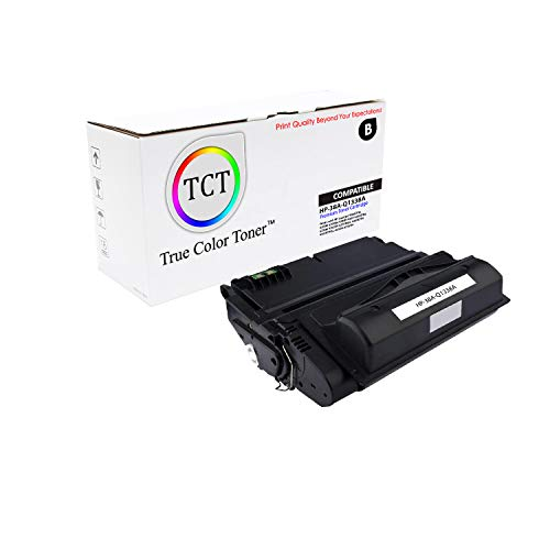 TCT Premium Compatible Toner Cartridge Replacement for HP 38A Q1338A Black Works with HP Laserjet 4200 4200N 4200TN 4200DTN 4200DTNS 4200DTNSL Printers (10,000 Pages)