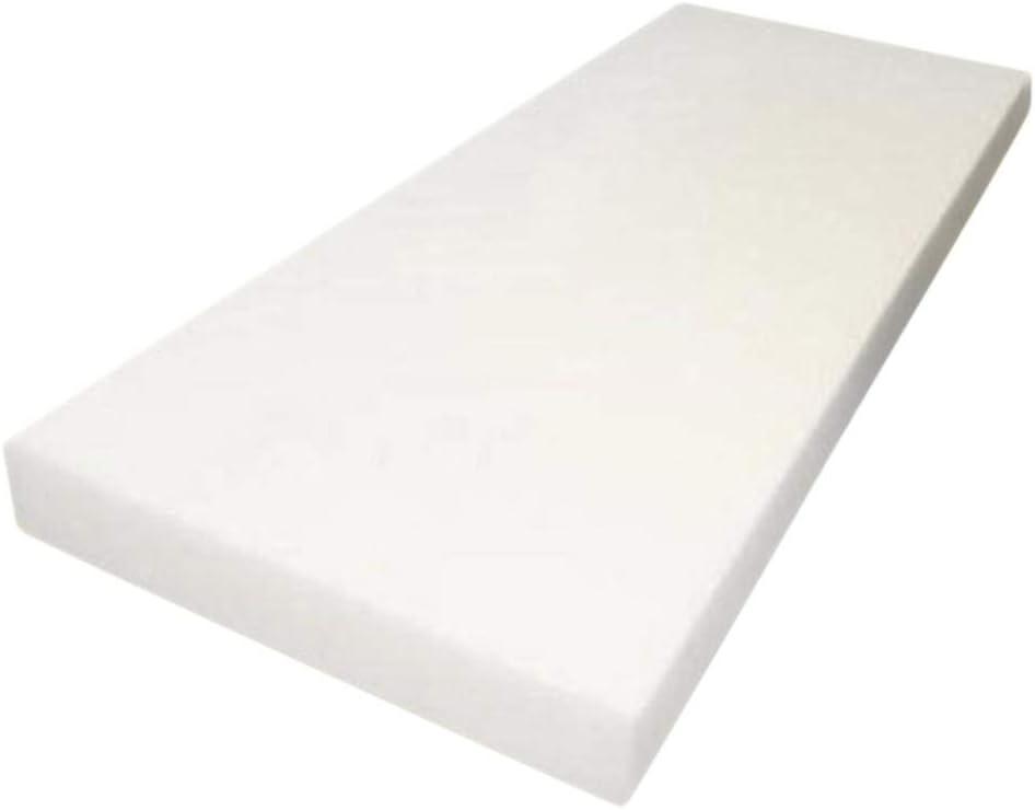 FOAMMA 1 x 20 x 21 Upholstery Foam High Density Foam Chair Cushion Square Foam for Dinning Chairs, Wheelchair Seat Cushion Replacement