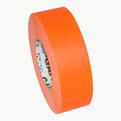 Pro Tapes 15410 Pro Tape Gaffers Tape, 50 yd. Length x 2'' Width, Orange by Pro Tapes