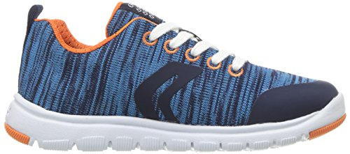 Geox J Xunday L, Zapatillas Para Niños Azul (Navy)