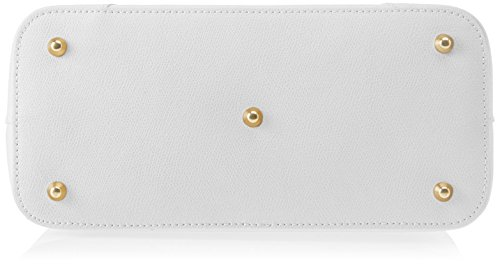 Chicca Borse 8656, Borsa a Spalla Donna, 30x22x14 cm (W x H x L) Bianco