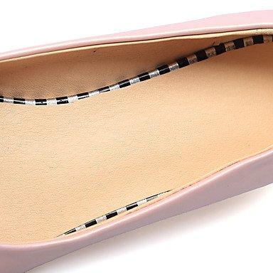 Cómodo y elegante soporte de zapatos de las mujeres pisos primavera verano otoño otros sintética oficina y carrera vestido de fiesta y noche tacón bajo otros verde rosa de almendro en otros rosa
