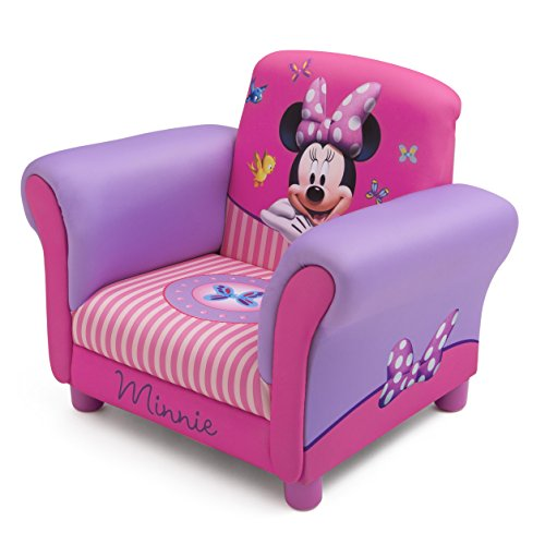 Disney Minnie Mouse Upholstered Chair Home And Office Chairs