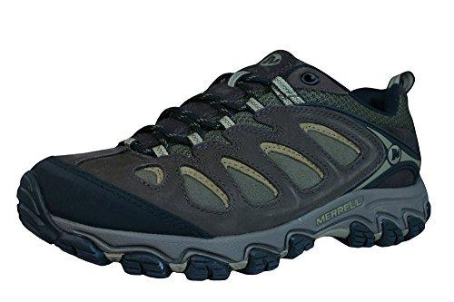Merrell Pulsate Hombres de senderismo / Walking Entrenadores / Zapatos-Brown-40