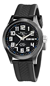 Ball Men's NM2020C-PA-BKBE Engineer Master II DLC Black Day Date Dial Watch
