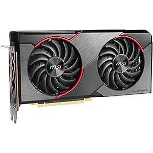 MSI Gaming Radeon RX 5500 XT Boost Clock: 1845 MHz 128-bit 8GB GDDR6 DP/HDMI Dual Torx 3.0 Fans Crossfire Freesync VR…