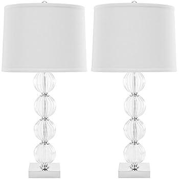 Bridgeport Designs Crystal Table Lamps 2 Pack Amazon Com