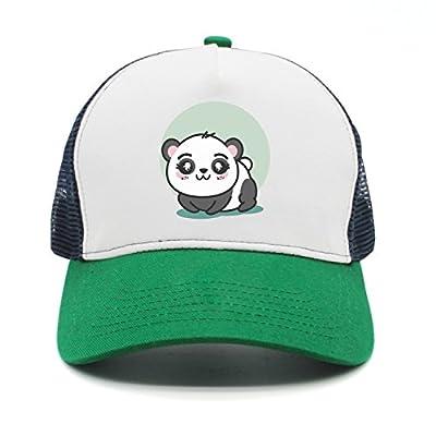 Unisex Cute Panda Animal Cartoon Designer Visor Hats Style Cap