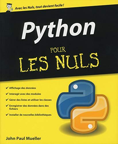 le python pour les nuls pdf