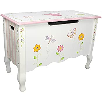 Amazon Com Dibsies Modern Expressions Toy Box White