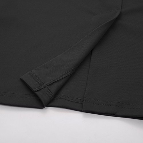 Robes Dames Noir GF596 Crayon Ceintur 1 Vintage sans Soire Poque Belle lgant Manches 596 zw5xPWqv