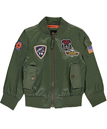 iXtreme Big Boys' Poly Twill Flight Jacket Withsatin Lining