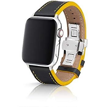 Amazon.com: 42/44mm JUUK Ruby Silver Vitero Premium Watch ...