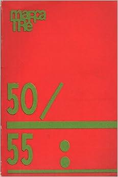 Book Marcatré 50/51/52/53/54/55