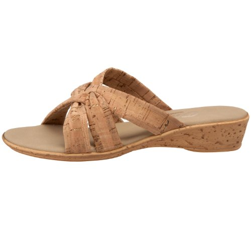 Sandal Us Cork M Leather Onex Black Flat 10 Sail Women's FnwAtp