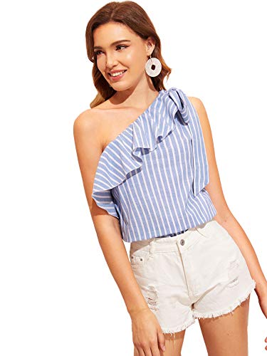 Causal One Shoulder Top