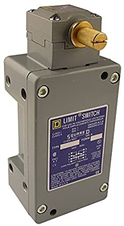 Square D 9007C68T10 Heavy Duty NEMA Limit Switch Neutral Position Pretravel 2 Pole 10-deg Neutral-Position Rotary Head