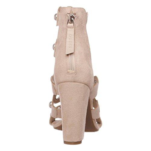 Guess Flgar1esu03 - Sandalias de vestir de Piel para mujer
