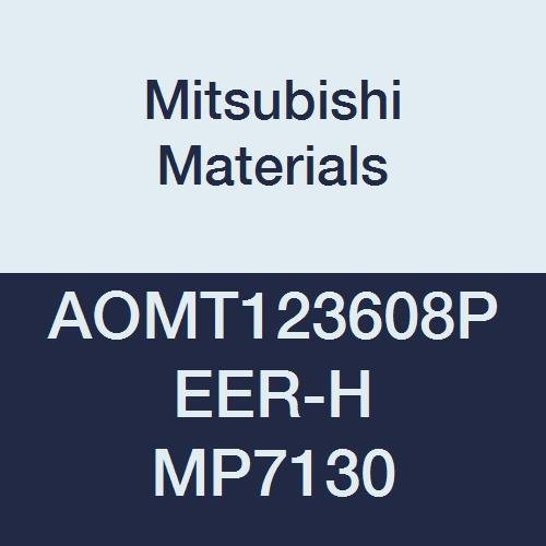 Pack of 10 Round Honing Mitsubishi Materials AOMT123608PEER-H MP7130 Coated Carbide Milling Insert Grade MP7130 0.142 Thick 0.031 Corner Radius Class M Parallelogram 85/°