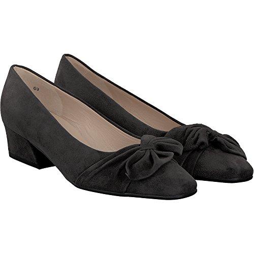 Gris de Piel vestir 128 Kaiser Zapatos Peter de mujer para 26827 w7IFqn6v