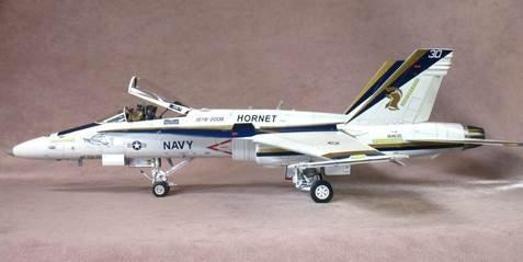 F/A-18C Hornet,1/72 Diecast Model, 30th Anniversary, Naval Air Depot, San Diego HA3525 Hobby Master