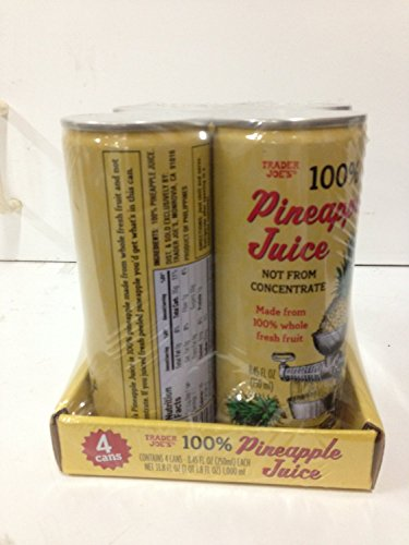 Pack Trader Joes Pineapple Juice
