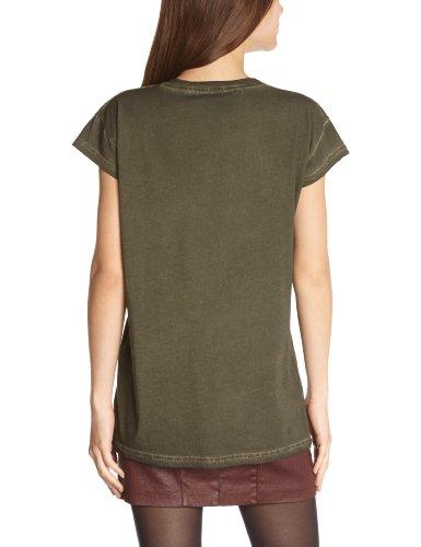 Pepe Jeans - Camiseta de manga corta con cuello redondo para mujer Green - Vert (Army)