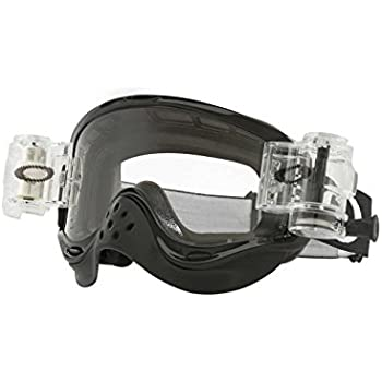 ef53fa03b6 Oakley MX RaceReady Jet Black with Clear unisex-adult Goggles (Black