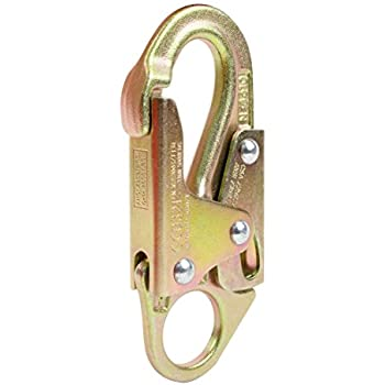 Arborist Forged Steel Snap Hook w// Fixed Eye kN 23 Tested to 3,600 lbs