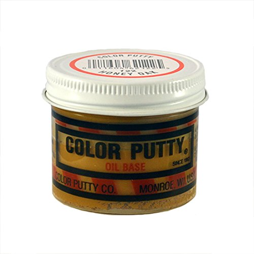 Color Putty Company 122 Color Putty 3.68 Ounce Jar, Honey Oak